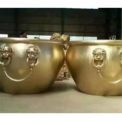 故宫铜大缸雕塑厂家_上海故宫铜大缸雕塑_博轩雕塑图片
