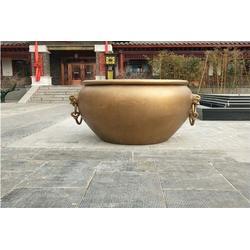 博轩雕塑,园林铜大缸雕塑,四川园林铜大缸雕塑