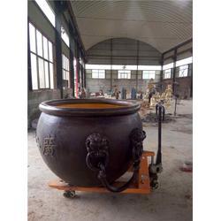 博轩雕塑(多图)_铜大缸雕塑厂家_黑龙江铜大缸雕塑图片