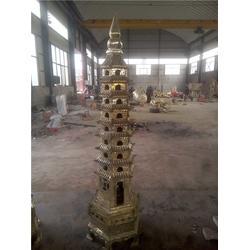 陕西铜宝塔 铜宝塔铸造厂 妙缘铜雕塑