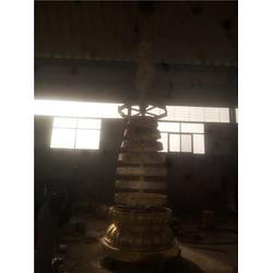 贵州铜宝塔-妙缘铜雕塑制作-铜宝塔制作厂图片