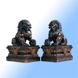 宁夏动物铜雕铸造厂图片