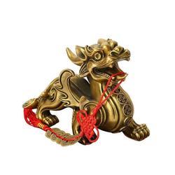 招财铜貔貅-青海铜貔貅-妙缘铜雕厂家(查看)图片