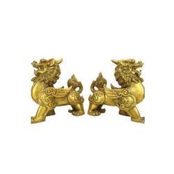 招财铜貔貅-河北铜貔貅-妙缘雕塑厂家(查看)图片