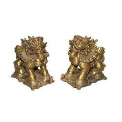 铸铜貔貅-江苏铜貔貅-妙缘铜雕铸造厂(查看)图片