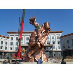 仿古城市雕塑厂家报价|妙缘铜雕|铜仁仿古城市雕塑图片