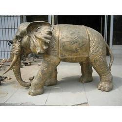 铜大象?#35889;?甘肃铜大象-妙缘铜雕铸造厂(查看)批发