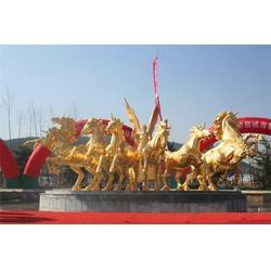山东铜飞马-妙缘铜雕公司-铜飞马加工图片