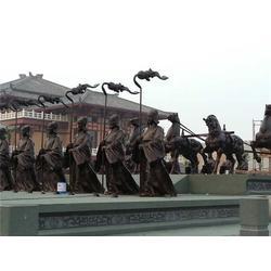 西藏马踏飞燕雕塑-妙缘铜雕公司-马踏飞燕雕塑铸造厂图片