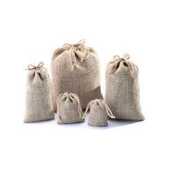 束口麻布袋(野望包装)(在线咨询)河南束口麻布袋图片