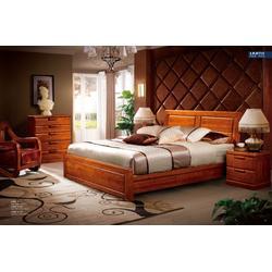 100%实木家具卧室套_实木家具_蓝图家具图片