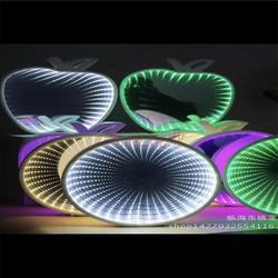 生产时空隧道灯镜片 镀膜银色镜片 加工半透明亚克力镜片图片