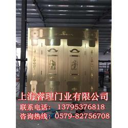 铜浮雕门代理-睿理门业(在线咨询)铜浮雕门图片