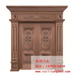 铜工艺门生产厂家,睿理门业(在线咨询),铜工艺门图片