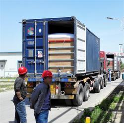 方型集装箱液袋-周固包装制品-阳江集装箱液袋图片