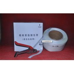 珠海纤维打包带,周固包装制品供货源,纤维打包带扣CB8图片