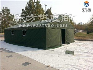 丰雨顺4X10米应急救灾帐篷定制 户外工地住人帐篷厂家图片