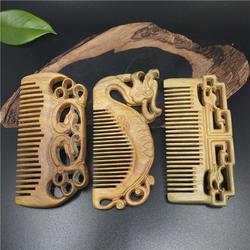 檀木梳供应厂家|嘉兴檀木梳|梵沐记工艺品时尚美观(查看)图片