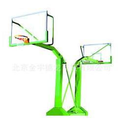 体育馆凹箱式仿液压篮球架、东莞篮球架、天健体育图片