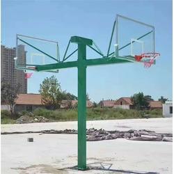 仿液压篮球架招标、南宁篮球架、天健体育图片