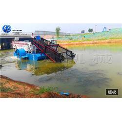 沟渠杂草割水草机-打捞湖面水草船-工业园区割水草机