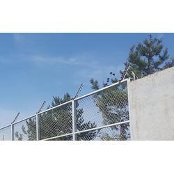 嘉峪关电子围栏-石家庄合洲-小区电子围栏图片
