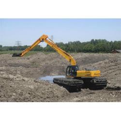 抚州挖掘机|宏宇出租水陆两种挖机|挖掘机操作图片