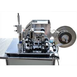 电线卷贴贴标机设备,电线卷贴贴标机,懿东、高精度对折贴标机图片