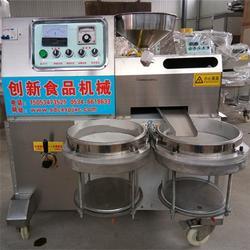 创新食品机械 小型流动榨油机 四川流动榨油机