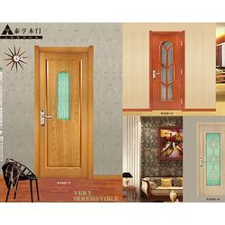原木免漆门订做|宁夏免漆门订做|山西泰亨木门图片