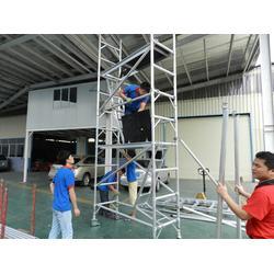 宜宾铝合金脚手架、专业脚手架厂,健生、铝合金脚手架加工厂图片