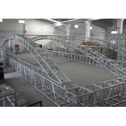 方管桁架、铝合金脚手架选健生、方管桁架厂家加工图片