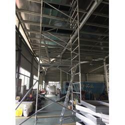 广州脚手架厂,健生,定购移动铝合金脚手架图片