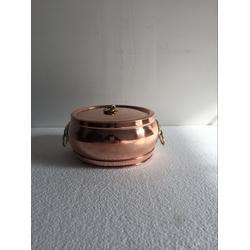 直径18cm铜火锅紫铜电磁火锅分餐小火锅图片