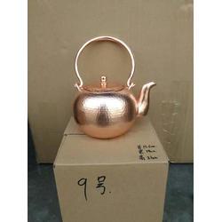 1.5升铜壶茶水壶茶道紫铜水壶图片