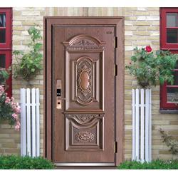 安堡仕智能防盗门代理、无锁孔智能防盗门常见品牌、智能防盗门图片