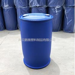耐酸碱腐蚀200L小口塑料桶200公斤双环化工桶图片