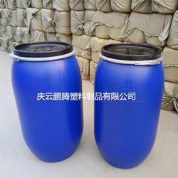 纯新料160公斤开口桶160kg塑料桶