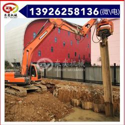 供应挖机打桩锤 专业的桩工设备 东奕VH型打桩机图片