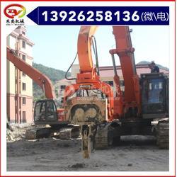 广州打钢板桩设备 挖掘机液压打桩机生产厂家图片