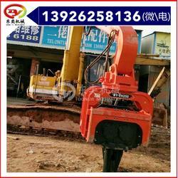 振动液压沉桩锤 挖机液压打桩机图片