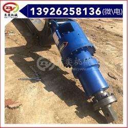 螺旋液压钻机 挖机成孔机械 打光伏支架图片