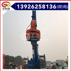 沉拔桩机 挖掘机液压打桩锤 沉桩机图片