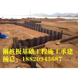 钢板桩型号_拉森钢板桩内支撑_拉森钢板桩规格 [盛浩方工程]图片