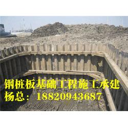 拉森钢板桩型号_拉森钢板桩施工方法_钢板桩围堰工程[盛浩方工程]图片