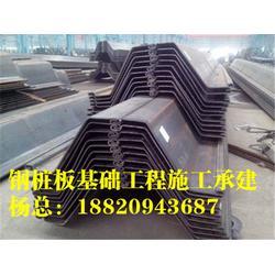 冷弯钢板桩_钢板桩施工_拉森钢板桩厂家[盛浩方工程]图片