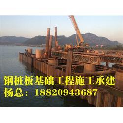 拉森钢板桩砂层-钢板桩止水-拉森钢板桩 盛浩方工程图片