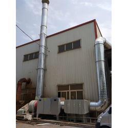 印刷厂废气处理设备 活性炭吸附装置图片
