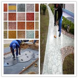压花地坪的施工做法 压花地坪的特点图片