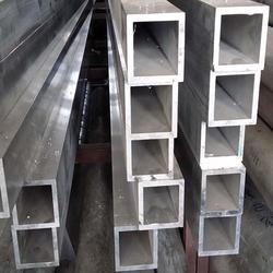 铝厂6063铝方管 铝合金方矩管 铝扁通 铝方通可定做图片